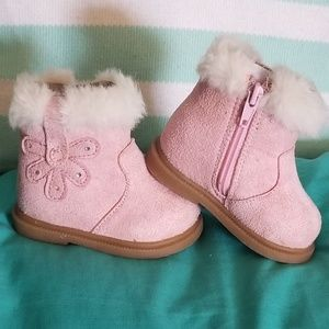 Other - Pink Baby Boots